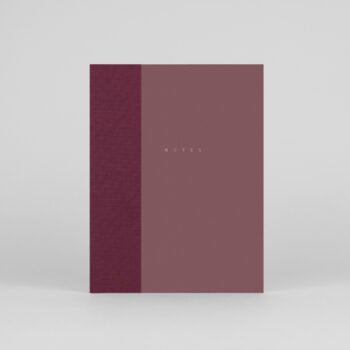 paper-goods, notebooks, CLASSIC NOTEBOOK DARK PINK - klasyk notebook 00 dusty rose 350x350