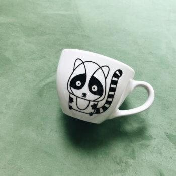 porzellan_und_keramik, wohnen, teller, KLEINER TELLER PINK EDGE - kubek lemur 500ml 350x350