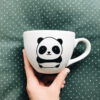 cups, porcelain_and_ceramics, interior-design, MUG PANDA 500 ML - kubek panda 500ml 100x100