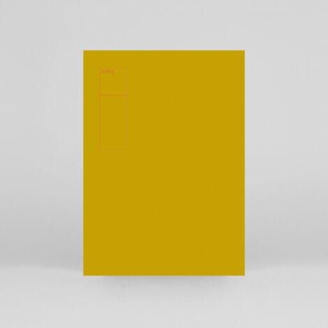 notizbuecher, papierartikel, NOTIZBUCH LEKKI GELB - BLANKO - lekki notebook yellow 00 470x470