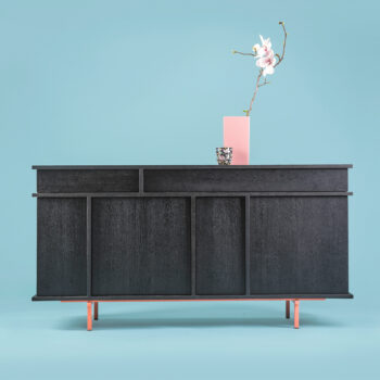 mobel, wohnen, sideboards, SIDEBOARD XOXO KISS - phormy UMAMI black 3 350x350