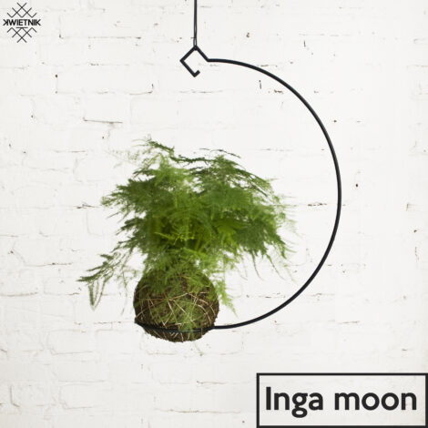 home-accessories, plant-stands, interior-design, SUSPENDED KOKEDAMA HOLDER INGA MOON - KWIETNI INGA MOON 470x470