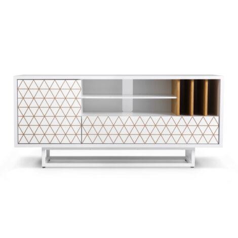 furniture, sideboards-en, interior-design, SIDEBOARD LOWBO ENGRAVED - LOWBO S WHITE FRONT 470x470