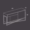 mobel, wohnen, sideboards, SIDEBOARD COMO - PH dim COMO 100x100