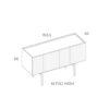 mobel, wohnen, sideboards, SIDEBOARD ORTO FULL HIGH - PH dim ORTO M Full High 100x100