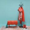 stools, furniture, interior-design, footrests, BENCH PUFFY - Puffy orange arr 1 100x100