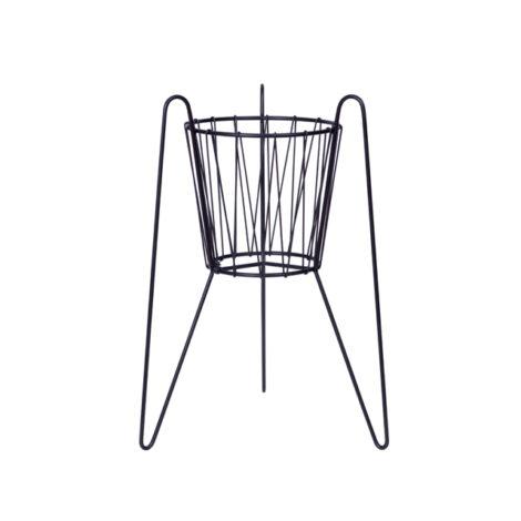 home-accessories, plant-stands, interior-design, FLOWER POT STAND KAROL - karol czarny 2 470x470