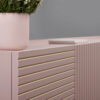 mobel, wohnen, sideboards, SIDEBOARD ORTO OPEN LOW - orto pink 2 100x100