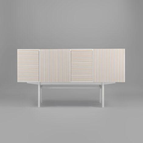 mobel, wohnen, sideboards, SIDEBOARD ORTO FULL HIGH - orto white 3 470x470