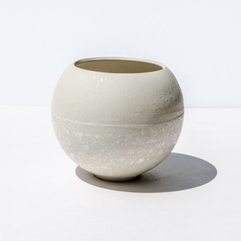 home-accessories, interior-design, flower-pots, FLOWER POT SPHERE WHITE SPLASH - FOBE SPHERE WHITE SPLASH W02 470x470