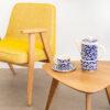 tassen, porzellan_und_keramik, wohnen, TASSE MIT UNTERTASSE 60'S - QY1C0596 100x100