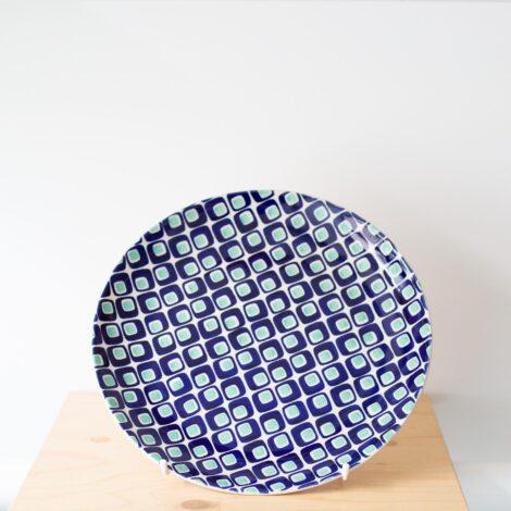 porcelain_and_ceramics, plates, interior-design, LARGE PLATE 60'S - QY1C0640 470x470