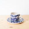 tassen, porzellan_und_keramik, wohnen, TASSE MIT UNTERTASSE 60'S - QY1C0645 100x100