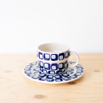 porzellan_und_keramik, wohnen, kannen, TEEKANNE MIT STÖVCHEN 60'S - QY1C0645 350x350