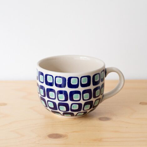 cups, porcelain_and_ceramics, interior-design, LARGE COFFEE CUP 60'S - QY1C0661 470x470