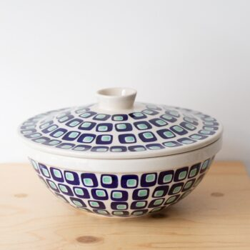 porcelain_and_ceramics, plates, interior-design, home-accessories, holders-and-trays, LARGE BOWL WITH A LID 60'S - QY1C0664 350x350