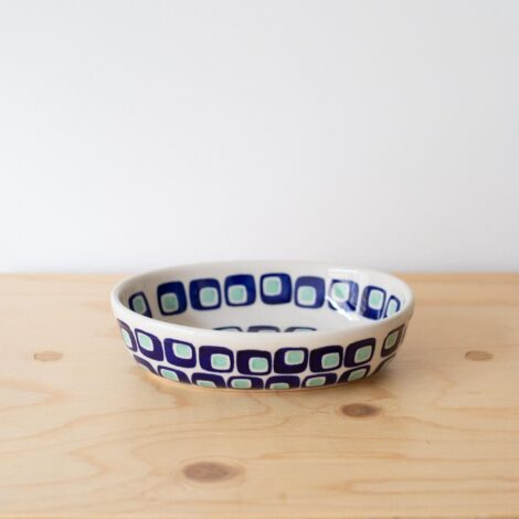 porcelain_and_ceramics, home-accessories, plates, others, interior-design, holders-and-trays, MINI BAKING DISH 60'S - QY1C0668 470x470