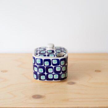 tassen, porzellan_und_keramik, wohnen, TASSE MIT UNTERTASSE 60'S - QY1C0670 350x350