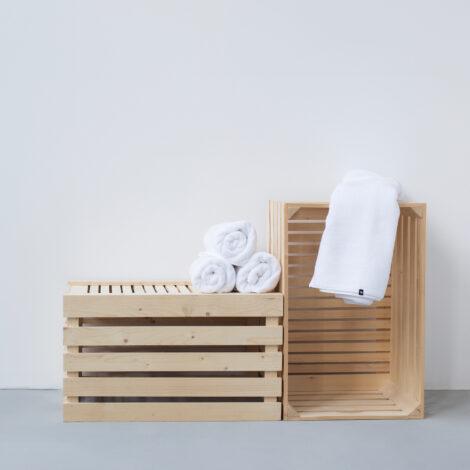 wohntextilien, wohnen, handtuecher, HANDTUCH PURE WHITE - HOP Design Pure Cotton Towel 2 470x470