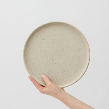 porzellan_und_keramik, wohnen, teller, WAVE FRÜHSTÜCKSSCHALE - IRIS LARGE PLATE 350x350