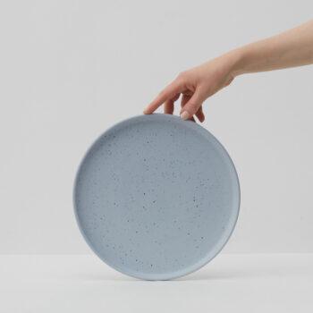 porzellan_und_keramik, wohnen, teller, WAVE KLEINER TELLER - WAVE LARGE PLATE 350x350