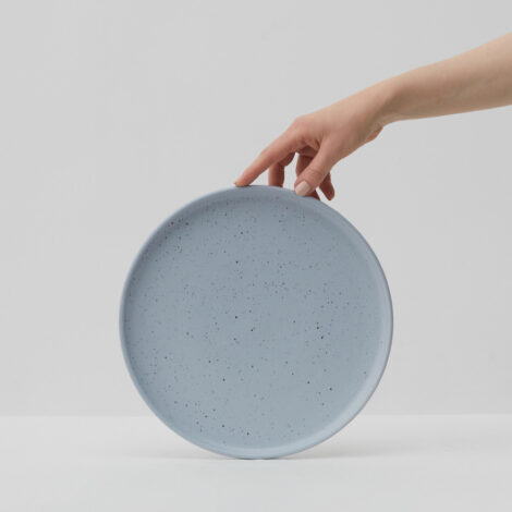 porcelain_and_ceramics, plates, interior-design, WAVE LARGE PLATE - WAVE LARGE PLATE 470x470