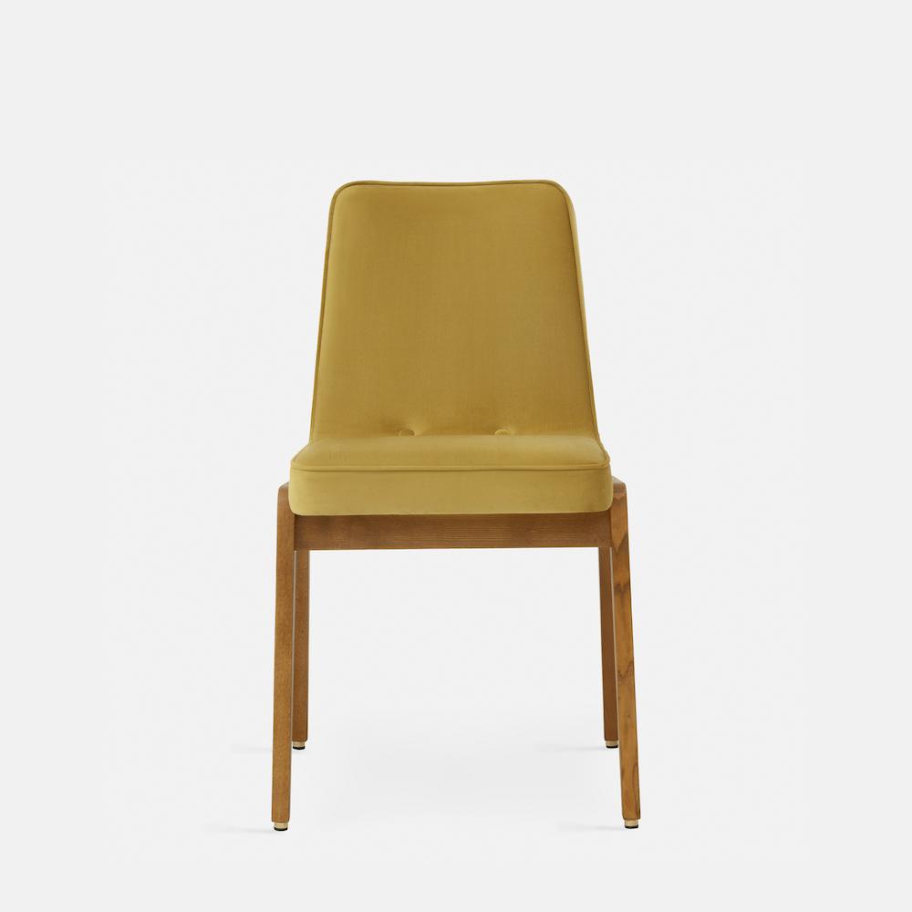 366-Concept-200-125-Var-Chair-W03-Shine-Velvet-Mustard-front