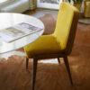 chairs, furniture, interior-design, CHAIR 200-125 VAR SHINY VELVET - 366 Concept Warsaw Paris 2019 Var W05 Shine Velvet Mustard mood kopia 2 100x100
