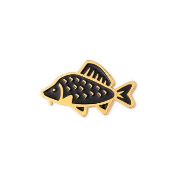 sale-en, pins-en, jewellery-sale, jewellery, PIN BLACK COMMON CARP - 512 pin karp czarny 350x350