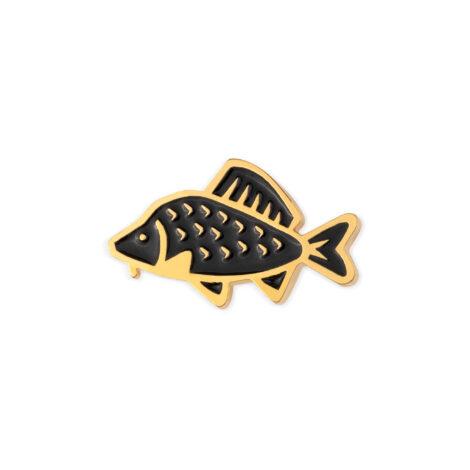 jewellery, sale-en, pins-en, jewellery-sale, PIN BLACK COMMON CARP - 512 pin karp czarny 470x470