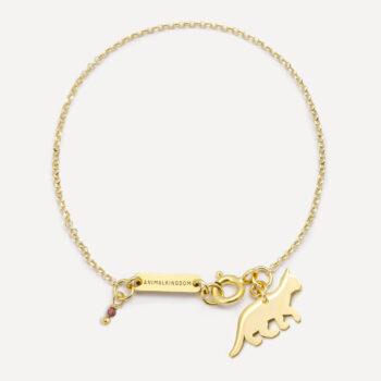 jewellery, braclets, BRACELET CAT | GOLD-PLATED - klot br zl1a 350x350