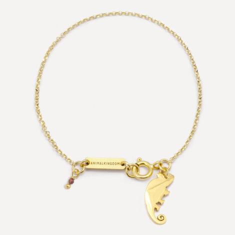 jewellery, sale-en, jewellery-sale, braclets, BRACELET CHAMELEON | GOLD-PLATED - kot zl br1a 470x470