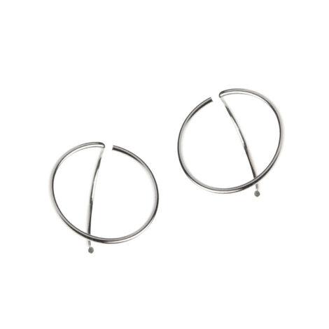 jewellery, earrings, EARRINGS ARCH LINE 3 - 1341 ab al e3 s 470x470