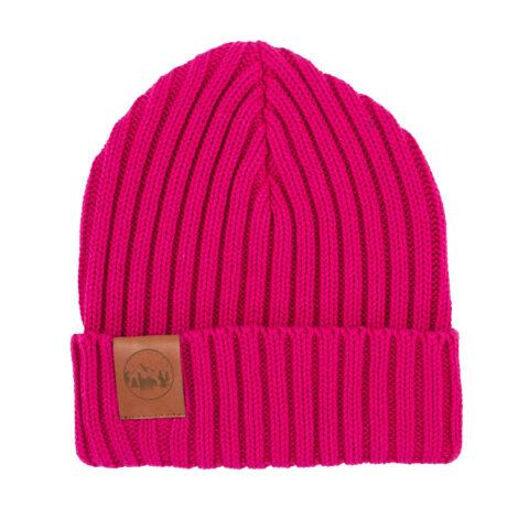 bekleidung-en, sale-en, beanies, accessories-sale, clothes-accessories, BEANIE ALKATRAZ NEON PINK - hat alcatraz cotton pink401 kabak 5906742648140 470x470