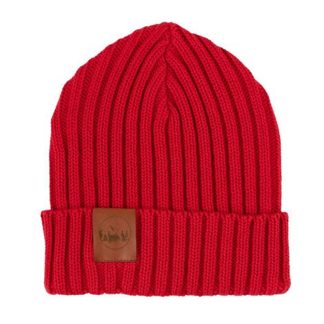 bekleidung-en, sale-en, beanies, accessories-sale, clothes-accessories, BEANIE ALKATRAZ RED - hat alcatraz cotton red001D kabak 5906742648881 470x470
