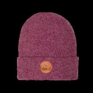 , hat_beanie_cotton_melange_burgundy_pink_5906742647525 - hat beanie cotton melange burgundy pink 5906742647525 300x300