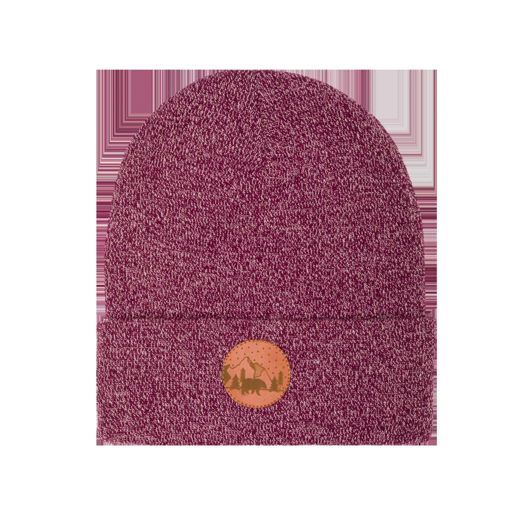 hat_beanie_cotton_melange_burgundy_pink_5906742647525
