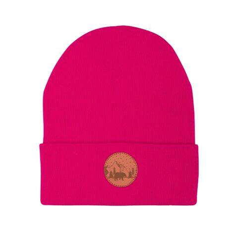 bekleidung-en, sale-en, beanies, accessories-sale, clothes-accessories, BEANIE NEON PINK - hat beanie cotton pink401 kabak 5906742648416 470x470