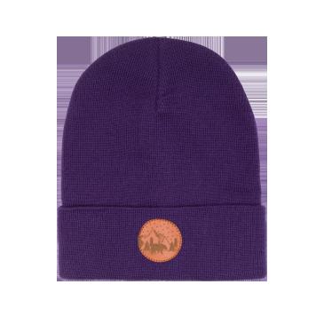 bekleidung, sale, mutzen, accessoires-sale, accessoires-bekleidung, BEANIE LILA - hat beanie cotton violet406 kabak 5906742648973