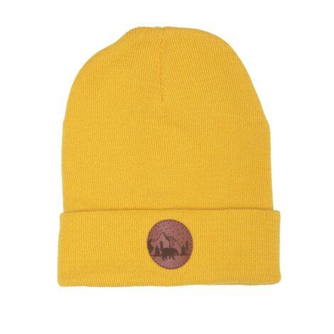 bekleidung, sale, mutzen, accessoires-sale, accessoires-bekleidung, BEANIE GELB - hat beanie cotton yellow126D kabak 5906742647242 470x470