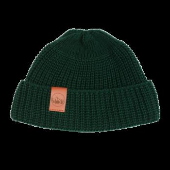 bekleidung, sale, mutzen, accessoires-sale, accessoires-bekleidung, KURZE MÜTZE SCHWARZ - hat short thick knitted cotton green509D 5906742648997 350x350