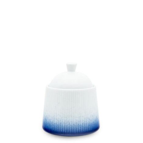 porcelain_and_ceramics, others, interior-design, SUGAR BOWL COBALT BLUE - cukiernica 250ml kobalt reliefowe paski 470x470