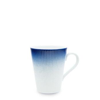 porcelain_and_ceramics, interior-design, cups, MUG COBALT BLUE - kubek 350ml kobalt reliefowe paski 350x350