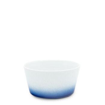 porcelain_and_ceramics, plates, interior-design, SMALL SALAD BOWL COBALT BLUE - miseczka 145cm kobalt reliefowe paski 350x350