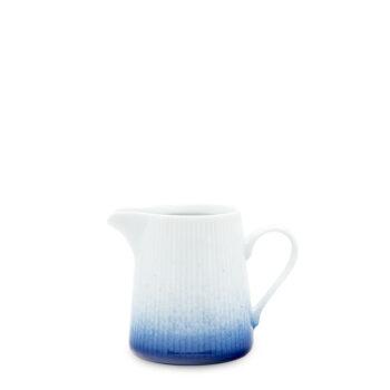 porcelain_and_ceramics, others, interior-design, SUGAR BOWL COBALT BLUE - mlecznik 200ml kobalt reliefowe paski 350x350