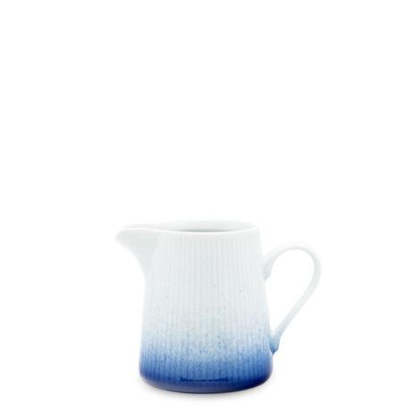 porcelain_and_ceramics, interior-design, MILK JUG COBALT BLUE - mlecznik 200ml kobalt reliefowe paski 470x470