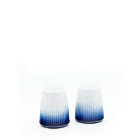 porcelain_and_ceramics, others, interior-design, SALT AND PAPPER SHAKERS COBALT BLUE - solniczka i pieprzniczka kobalt reliefowe paski 470x470