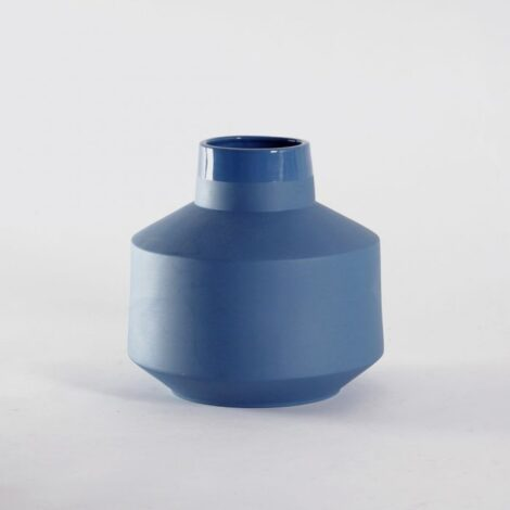 , VASE BERTA BLAU - wazon berta niebieska 470x470