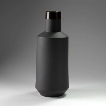 vases, porcelain_and_ceramics, interior-design, VASE TOMEK BLACK - wazon tomek czarny 8 350x350